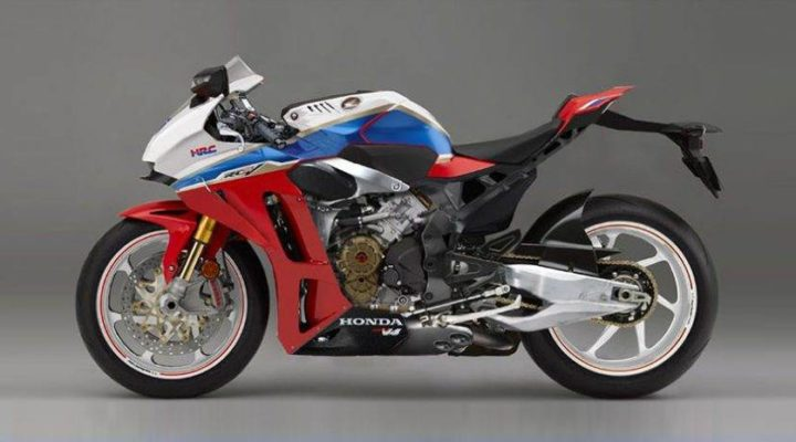 A Look at Honda's V4 Superbike